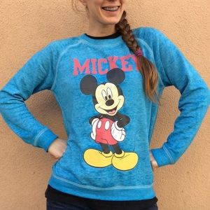 Disney Mickey Mouse Blue Pullover Blue